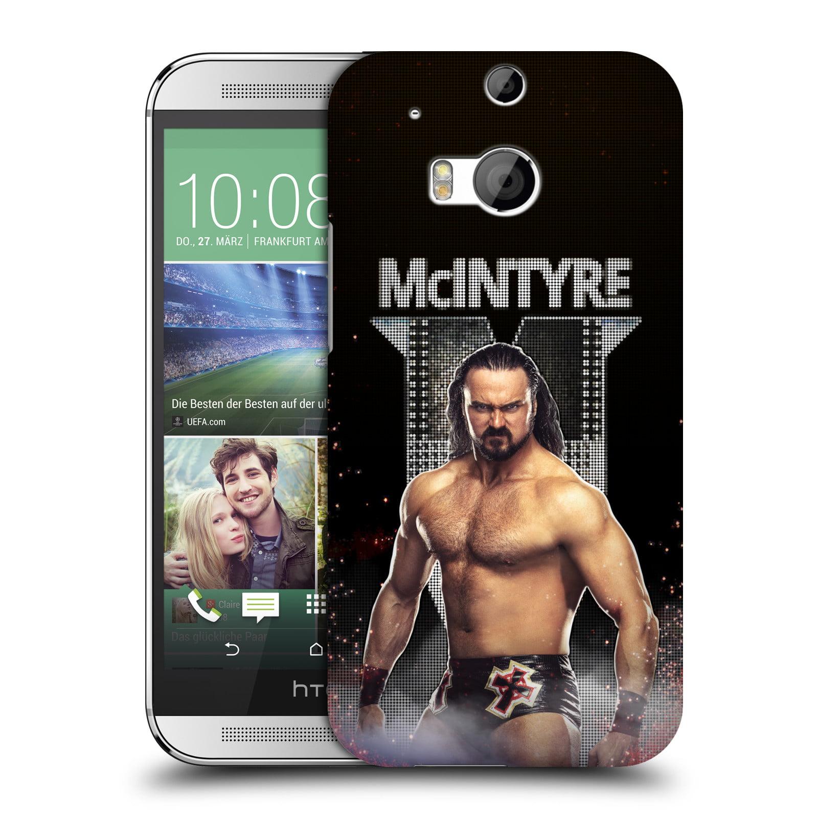 OFFICIAL WWE DREW MCINTYRE HARD BACK CASE FOR HTC PHONES 1