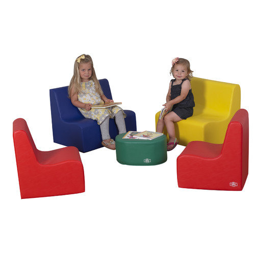 The Children's Factory 5 Piece Kids Tot Family Room Set