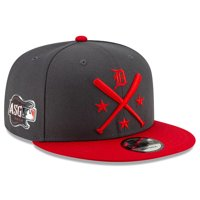 Detroit Tigers New Era 2019 MLB All-Star Workout 9FIFTY Snapback Adjustable Hat - Graphite/Red - OSFA