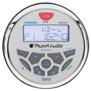 Planetaudio PGR35B Gauge MECH-LESS Multimedia Player CD or DVD, Receiver with Audio Streaming
