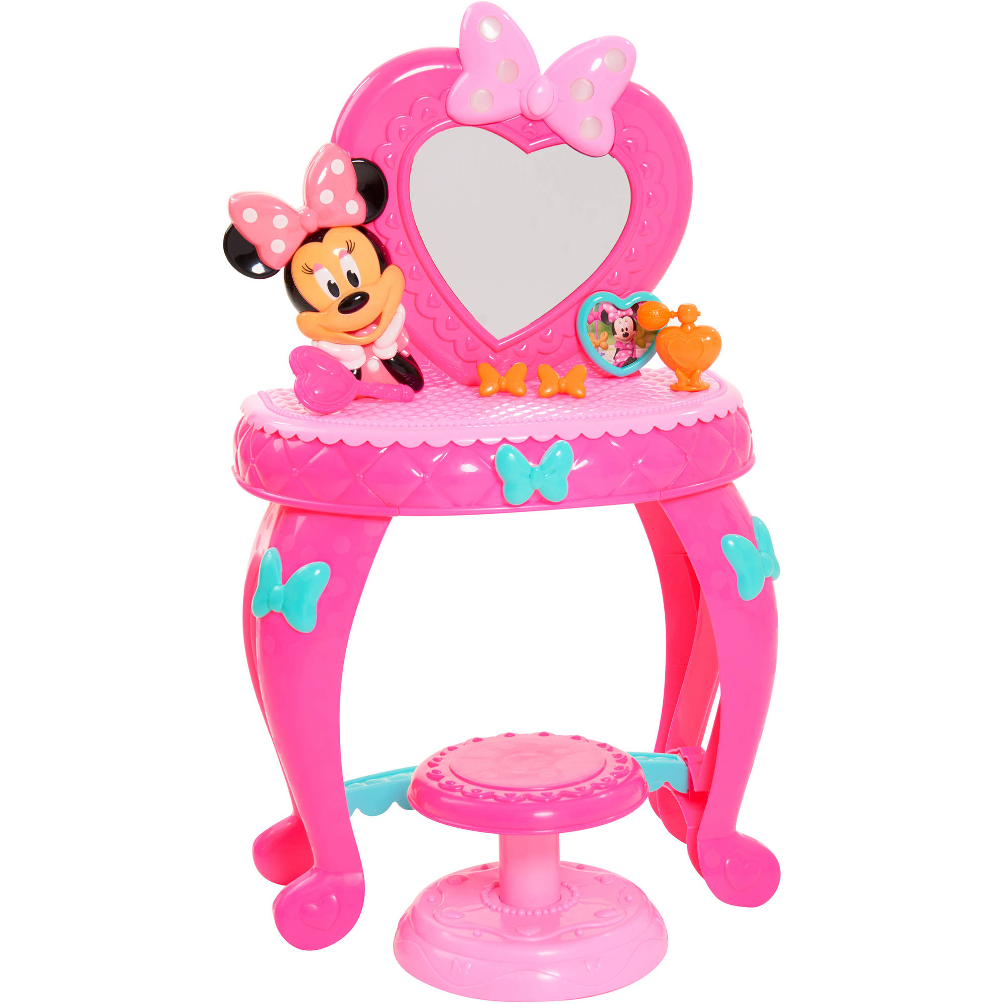 Disney Minnie Bow Tique Bowdazzling Vanity Girls Pink Xmas New Ebay