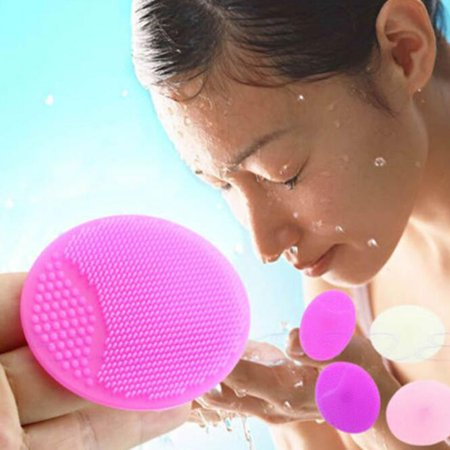 - 5Pcs Magic Silicone Blackhead Remover Facial Face Brush Cleansing Pad Dirt Remover Skin Care
