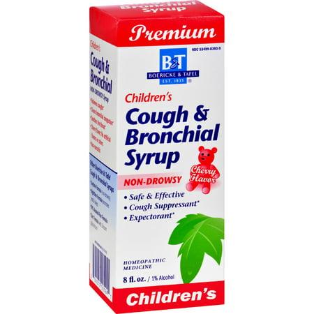 Boericke & Tafel Children's Cough & Bronchial Syrup Non-Drowsy -