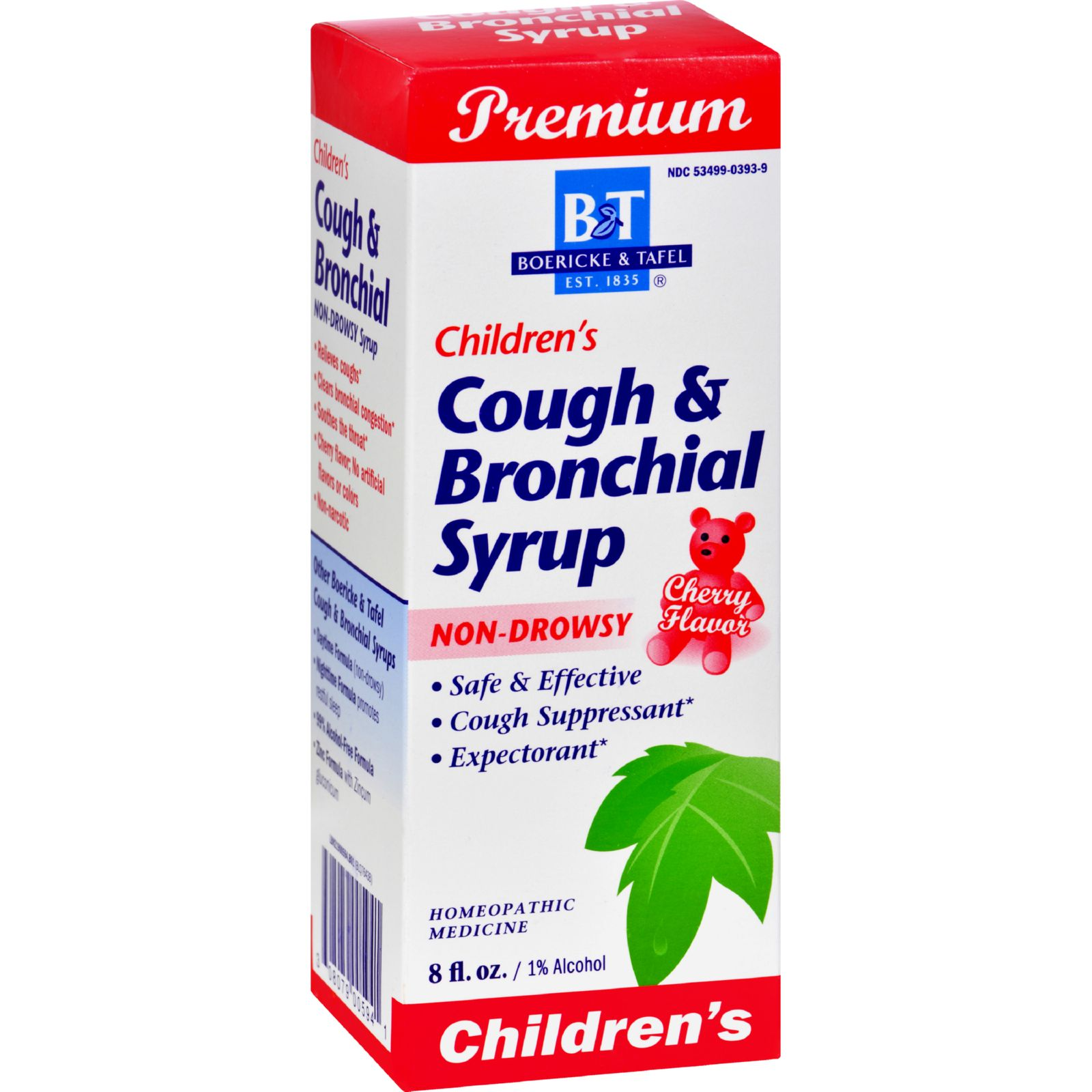 Boericke & Tafel Children's Cough & Bronchial, 8 Oz