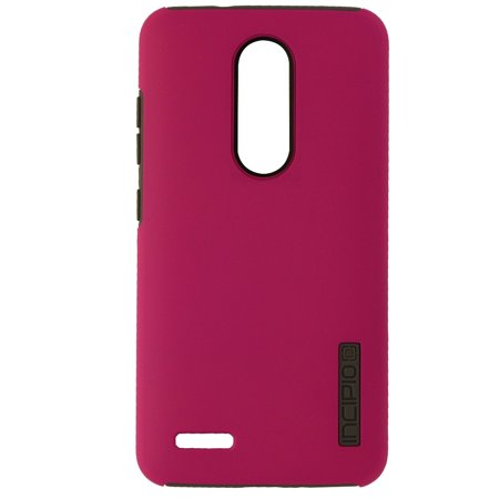 Incipio DualPro Series Dual Layer Case Cover for ZTE ZMAX Pro - Matte Pink/Gray - image 1 de 3