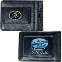 Colorado Buffaloes Leather Cash & Cardholder (F)