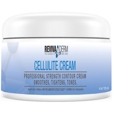 RevivaDerm Cellulite Cream Extra Firming Body Lotion - Specially Formulated to Improve Skin Firmness, Tightening & Body Toning - Helps improve look and feel of Legs, Arms, Stomach, Buttocks - 4