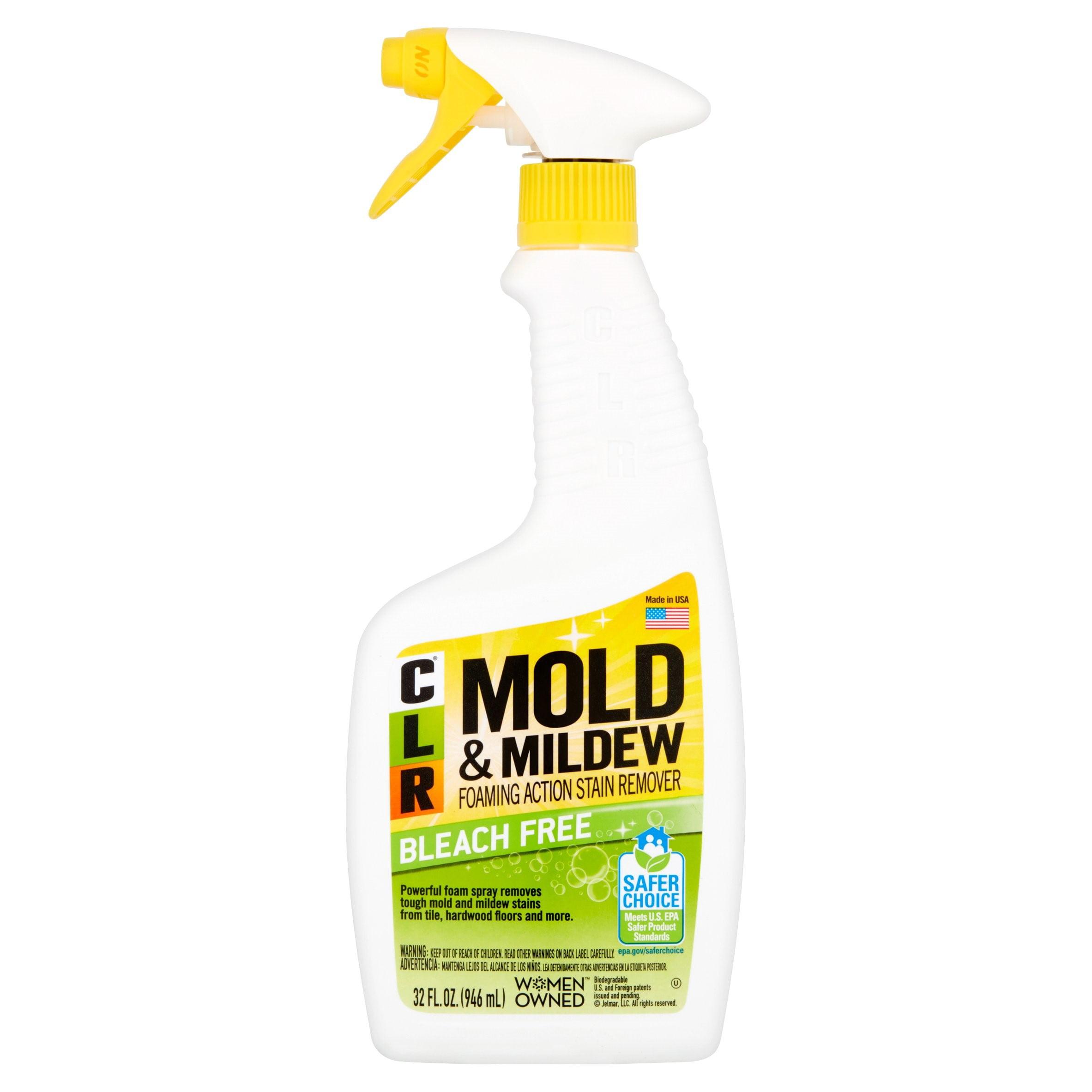 CLR® Bleach-Free Mold & Mildew Spray, Foaming Stain Remover, 32 fl ...