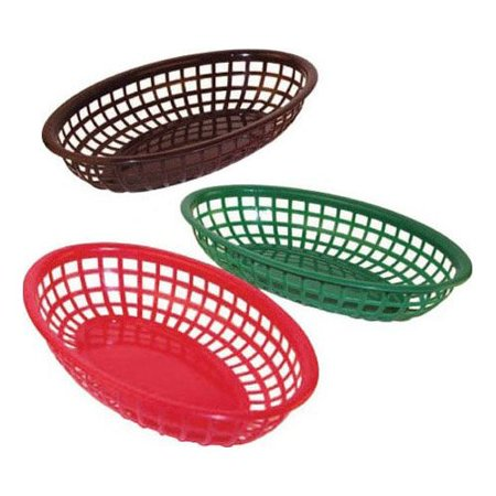 Brown Oval Basket - 9-1/4