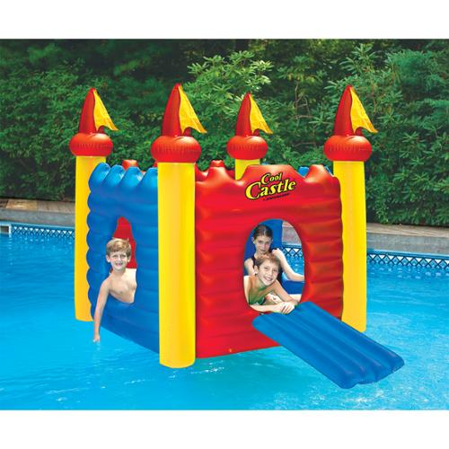 Water Sports Inflatable Cool Castle Floating Swimming Pool Toy by Swim Central