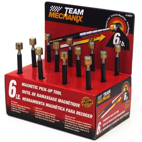 TeamMechanix Magnetic Pick Up Tool 410097 (Set of 12)