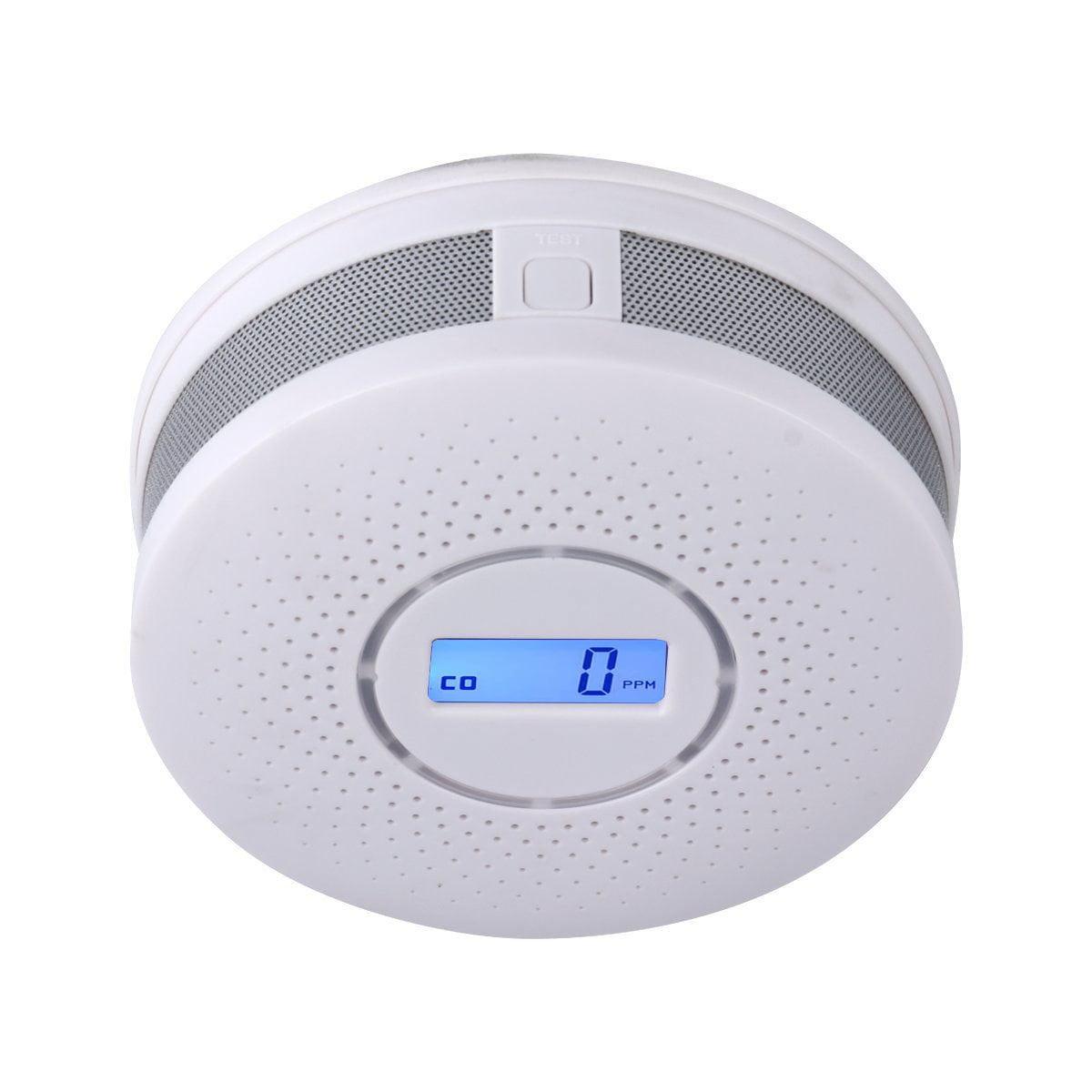 Feelglad Combination Carbon Monoxide Smoke Detector Battery