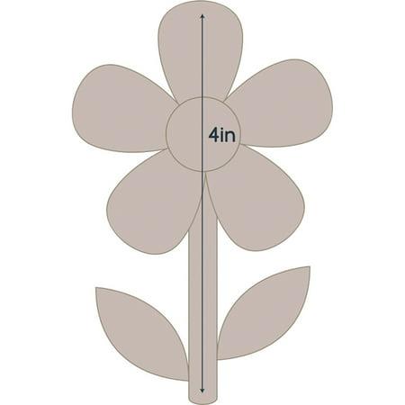 (Couture Creations Quilt Essentials Quilting Die-Simple Flower 2 - Applique 2.8