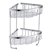 Fresca 2 Tier Wire Basket - Chrome - FAC0305CH