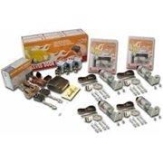 AutoLoc Power Accessories AUTSVPRO3F 8 Function 35lbs 4 Door Remote Shaved Door Popper Kit