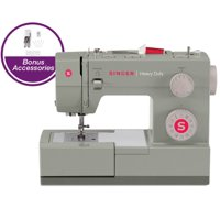 Singer Heavy Duty 4452 Electric Sewing Machine - Gray