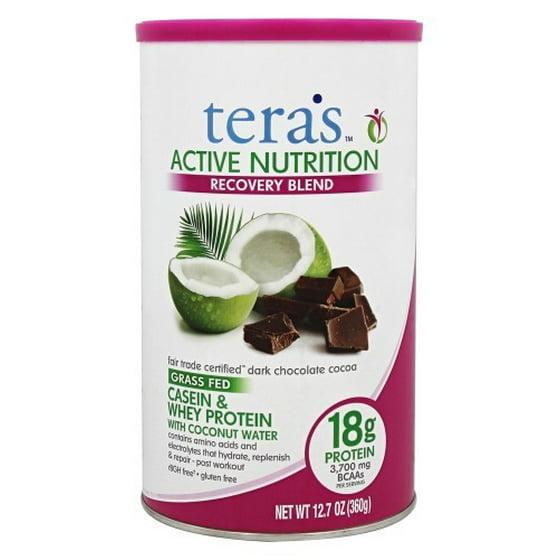 Teras Whey Organic Protein, Dark Chocolate, 12 5 Oz