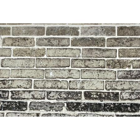 LAMINATED POSTER Brown Backdrop Wall Brick Grey Stone Gray Poster Print 24 x 36 - Stone Backdrop