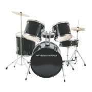 On-Stage DK7500-GB 5-Piece Drum Set , Gloss Black