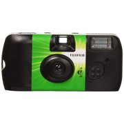 Fujifilm QuickSnap 400 Speed Single Use Camera With Flash, Fun And Easy To Use, Indoor/Outdoor Use (New Open Box)