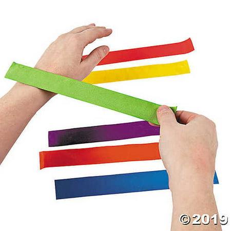 Bright Color Slap Bracelet Assortment (Slap Braclet)