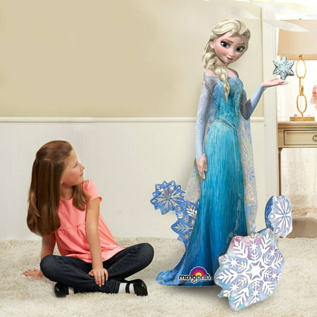 Disney Frozen Elsa Airwalker Balloon - Balloon With Name On It