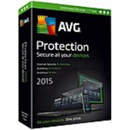 AVG Protection 2015 - Subscription License - 1 Year -