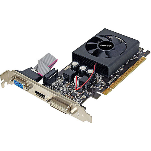 PNY Technologies GeForce GT 610 1GB DDR3 PCI Express 2.0 Graphics Card