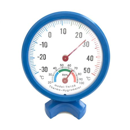 Humidity Thermometer - Multifunctional Indoor Hygrometer Thermometer Temperature Humidity Meter Home Office Baby Room