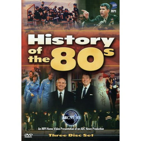 History of the 80's [3 Discs] (Full Frame)
