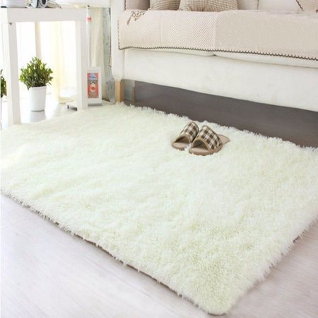 New Modern Designer Shag Shaggy Area Rug Living Room Carpet Bedroom Rug 3x5 ft
