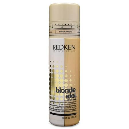 Redken Blonde Idol Custom-Tone Adjustable Color-Depositing Daily Treatment, 6.6 Fl Oz