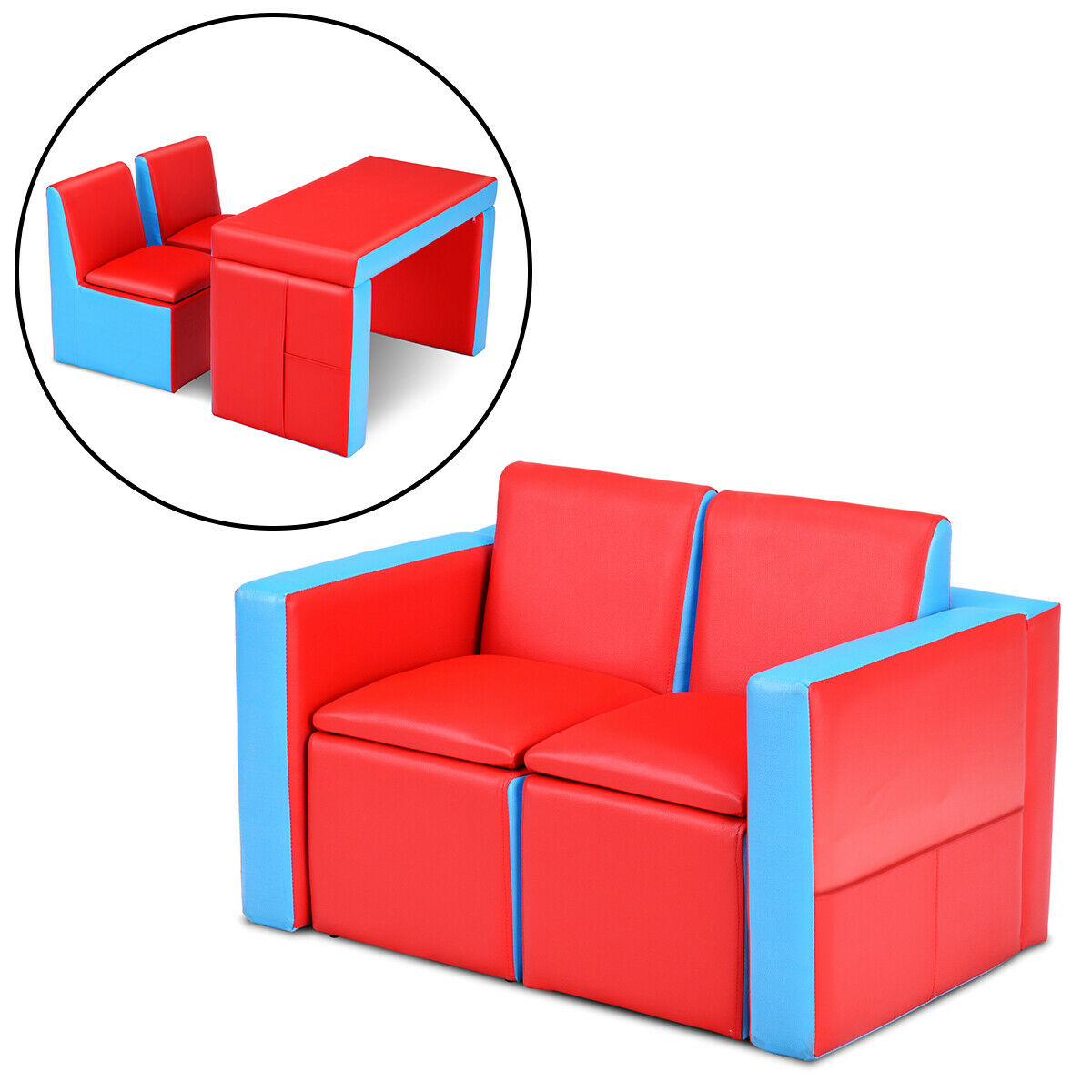 Hayes and Harper Toddler Couch Kids Sofa Kid fold Out Chair Baby couches flip Open Chairs Girls Boys Toddlers Sofas