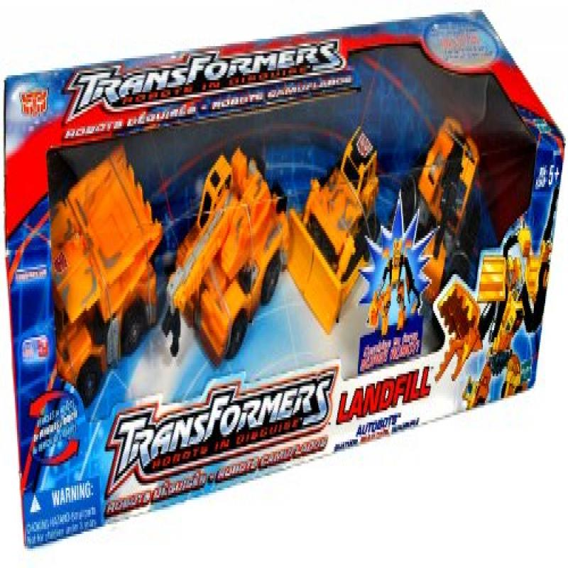 Hasbro Transformers Robots In Disguise Landfill Autobots ...