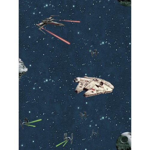 Disney Kids III Star Wars Classic Ships Wallpaper