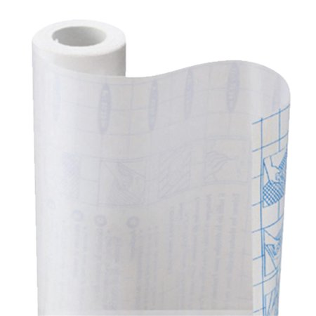 Con Tact Self Adhesive Shelf Liner 18 Inx75 Ft Clear