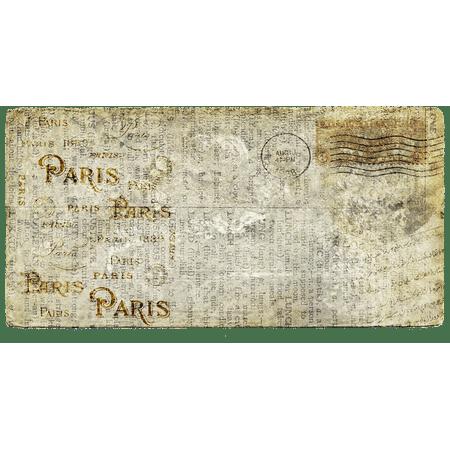 LAMINATED POSTER Letters Paris Paper Old Postcard Mail Vintage Poster Print 24 x 36