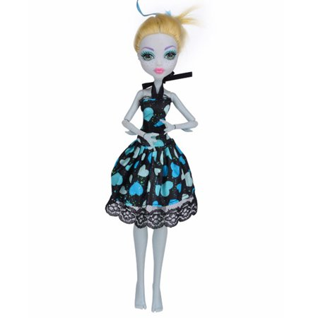 Tuscom Cool Fashion Handmade Princess Dress Clothes Gown For Monster High Doll - Monster High Sale