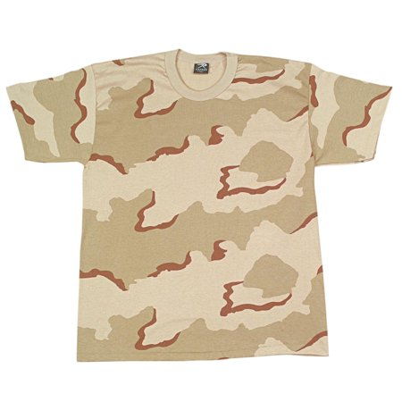 Tri Color Desert Camouflage Fatigue - Boys Tri Color Desert Camo T-Shirt