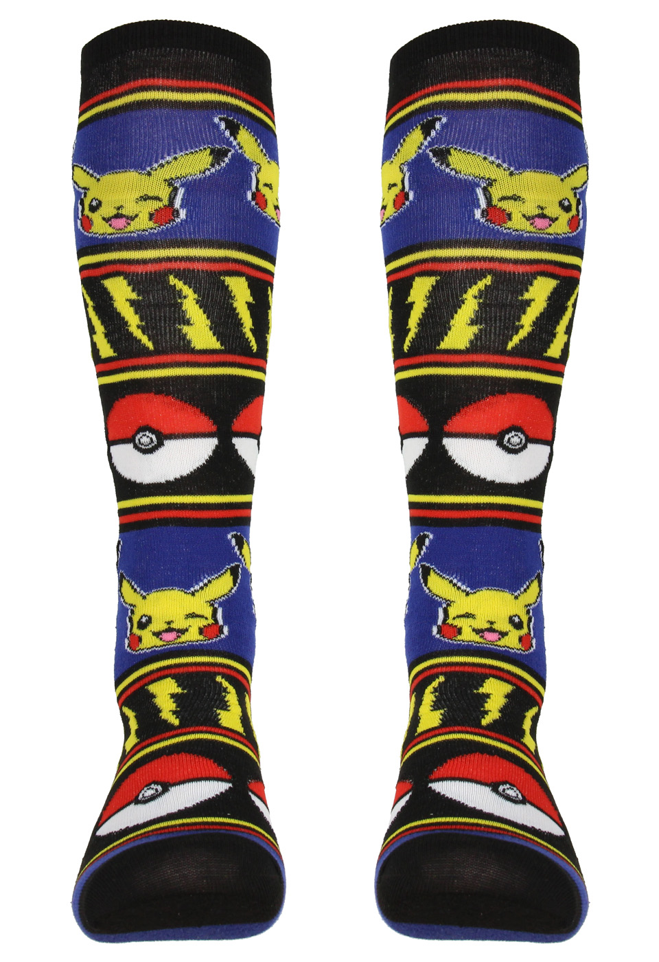 Pokemon Pokeball Knee High Socks