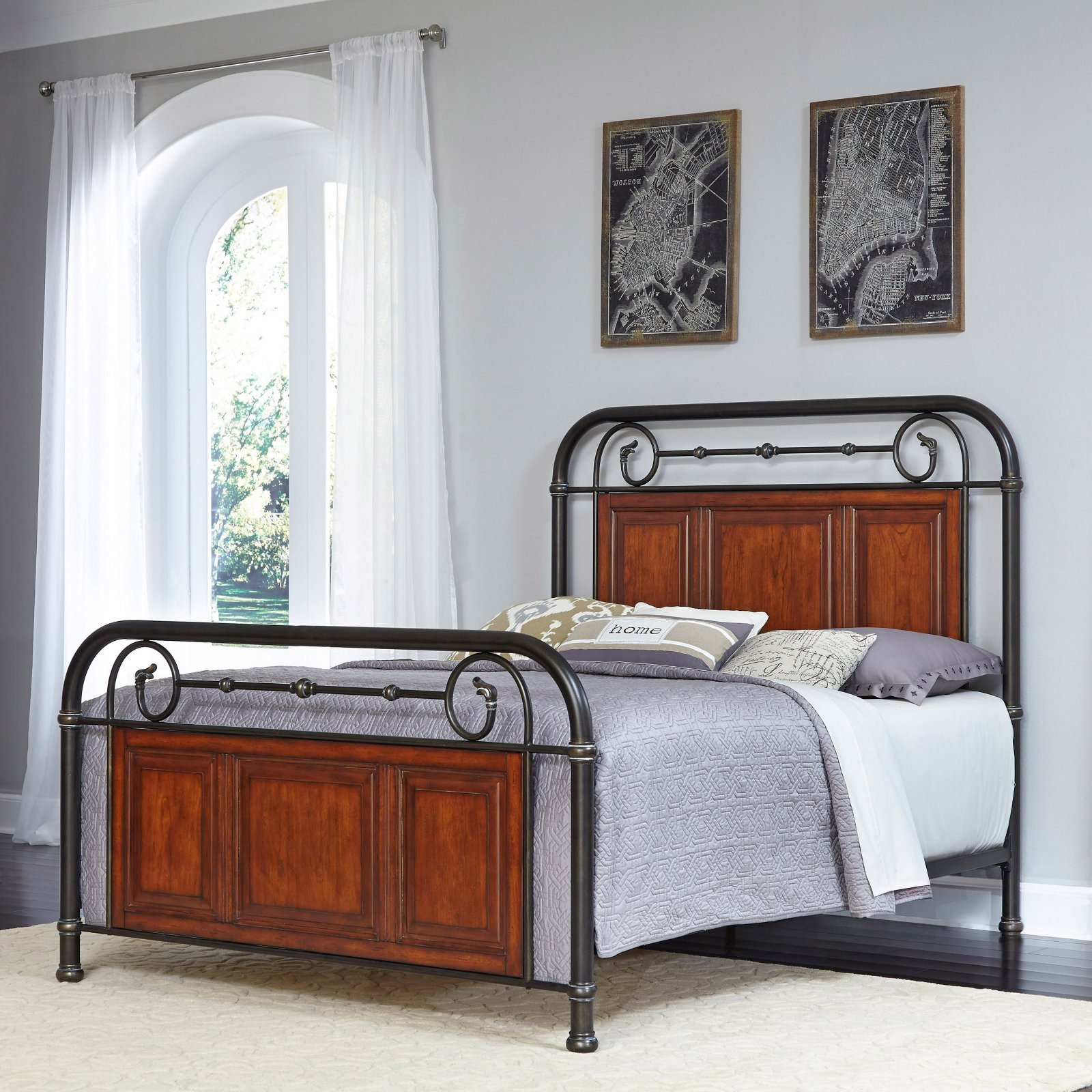 Richmond Hill Queen Bed and Night Stand