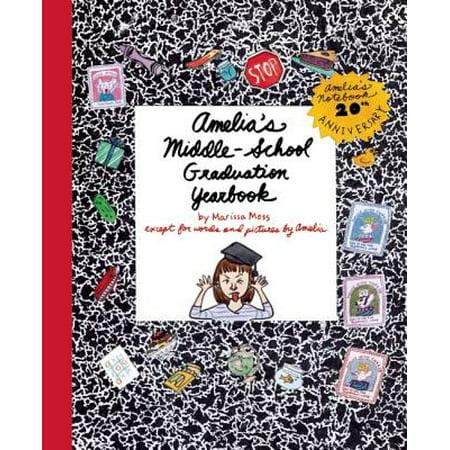 Amelia's Middle-School Graduation Yearbook - High School Yearbook Game