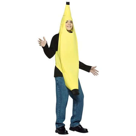 Banana Lightweight Teen Halloween Costume - One Size - Quick Halloween Costume Ideas For Teenagers