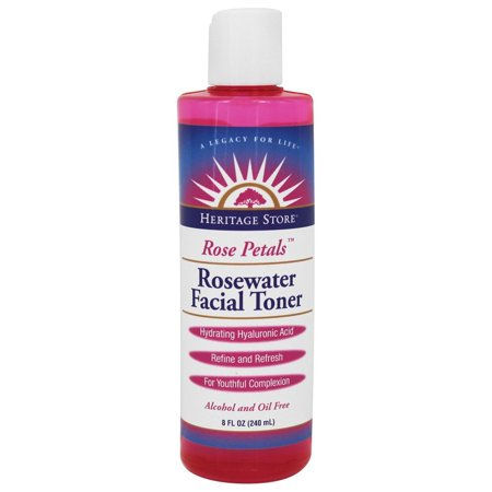 Heritage - Rose Petals Rosewater Facial Toner - 8 oz.