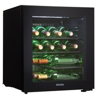 Danby 1.8 cft Free-Standing Wine Cooler in Black