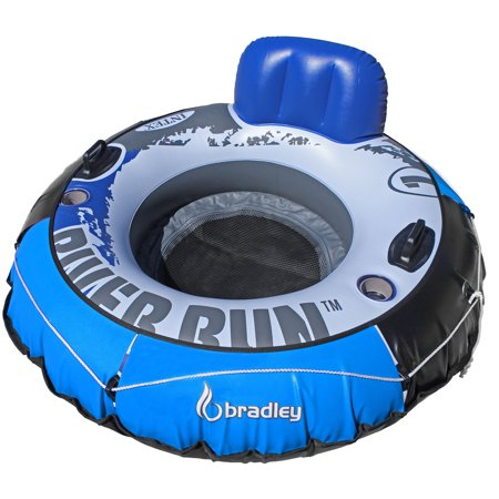 Heavy Duty River Run Tube with Cover | Floating Lounger | River Tube (Float Tube Cover)