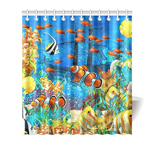 MKHERT Tropical Coral Reef Fishes Ocean Sea Life House