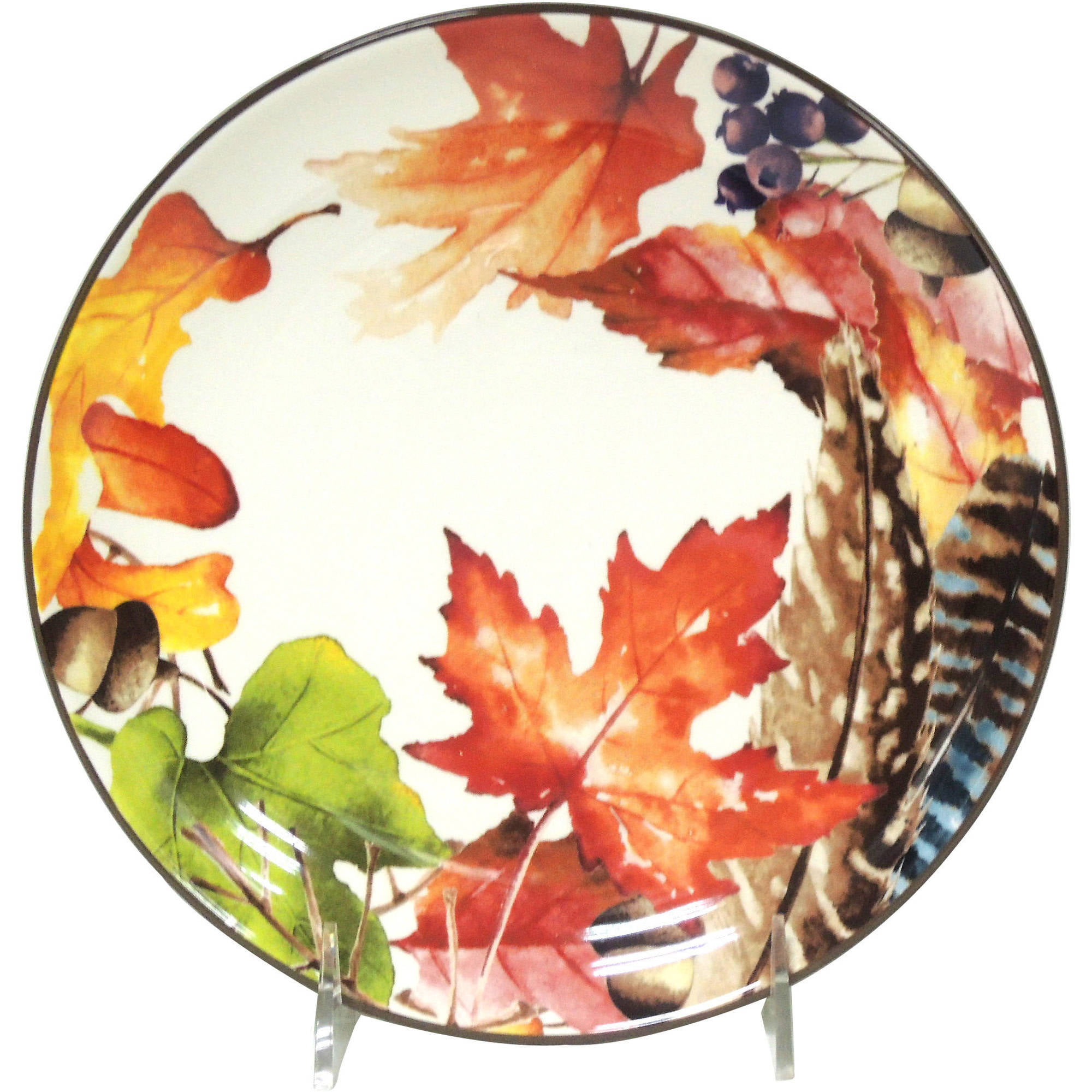 Better Homes And Gardens Leaf Salad Plate, Set Of 6   Walmart.com