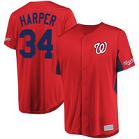 Bryce Harper Washington Nationals Majestic MLB Jersey - Red