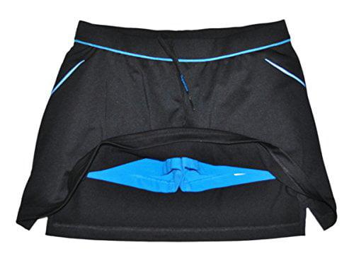 Adidas Performance Women's Skort Black Fresh Splash Size Small by